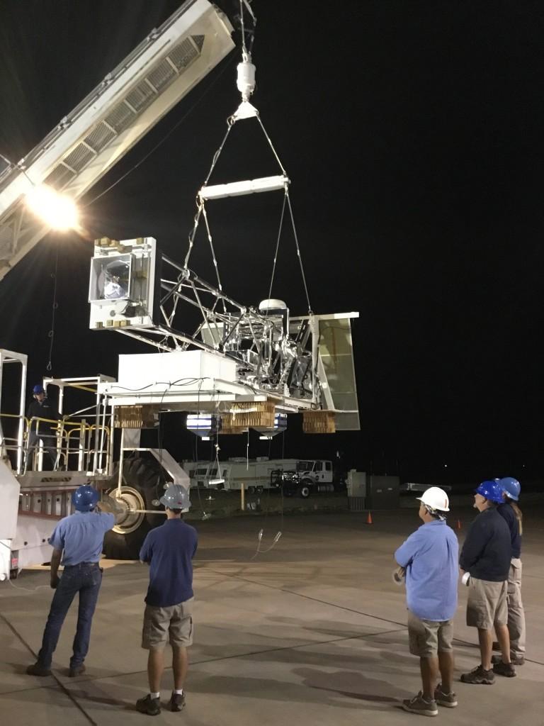 X-Calibur fırlatma için hazırlanıyor