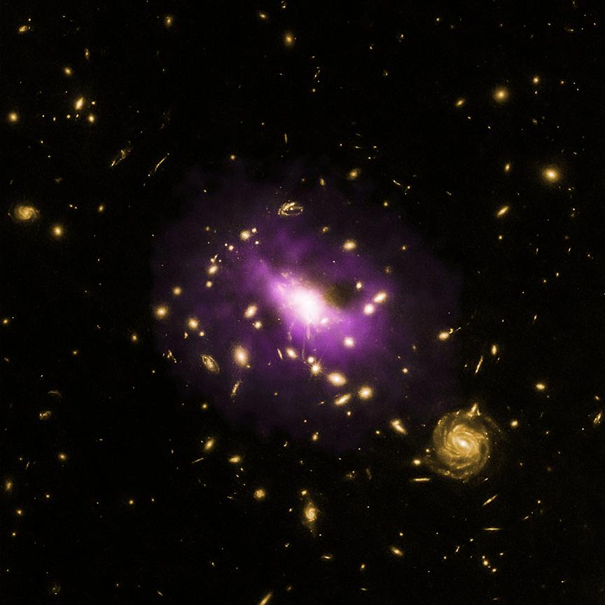 Galaksi kümesindeki kara delik