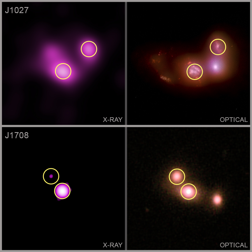 Birleşen galaksiler